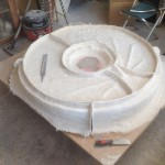 The completed mould
