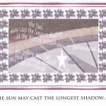 Jenny Brown: The Sun may cast the longest shadow