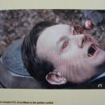 Rob Stephenson: Paul Brooke as vampiric P.C. Erny killed on the garden sundial.
