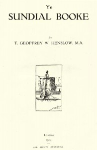 T. GEOFFREY W