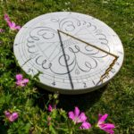 An Islamic inspired horizontal sundial: